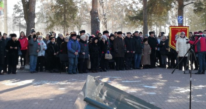 В Бишкеке состоялся митинг-реквием, посвященный 77-й годовщине прорыва блокады Ленинграда