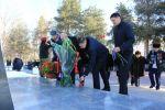 Бишкекте Ленинград блокадасын жарып өтүүнүн 77 жылдыгына арналган митинг-реквием болду