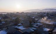 Бишкеке жакын конуштардын бири. Архивдик сүрөт