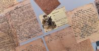 Письма с фронта в музее Победы в Москве. Архивное фото