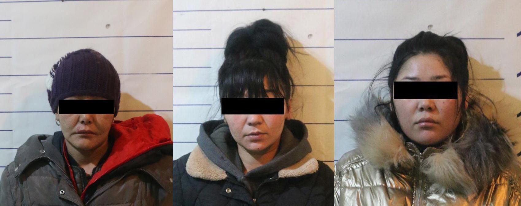 Задержаны три женщины, подозреваемые в вовлечении несовершеннолетней в занятия проституцией в Бишкеке