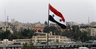 Сириянын желеги. Архивдик сүрөт