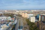 Вид улицы Южная магистраль в Бишкеке с дрона