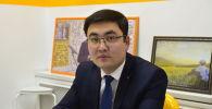 Эмгек жана социалдык өнүгүү министрлигинин Эмгек башкармалыгынын башчысы Махмуд Ойтемиров. Архив