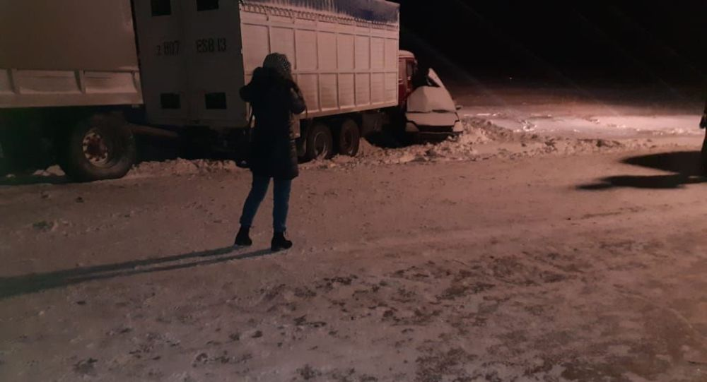 Россиянын Челябинск облусундагы жол кырсык
