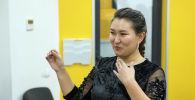 Сотрудники пресс-служб госорганов и коммерческих организаций во время мастер-класса пресс-секретаря Sputnik Кыргызстан Нуржан Найзабековой