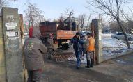 В Бишкеке на прошлой неделе снесли аттракционы в парке имени Ататюрка и ряд других объектов