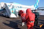 В аэропорту южной столицы Казахстана проверили готовность служб к возможному прибытию инфицированных коронавирусом пассажиров. Учения проводились в условиях, максимально приближенных к реальным.