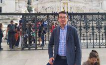 Директор компании по организации образования за рубежом Алтынбек Бегалиев