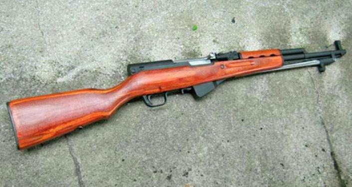 Изъятое оружие в ходе рейда Бандит в городе Ош