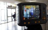 Контрольно-пропускной пункт в международном аэропорту Манас. Архивное фото
