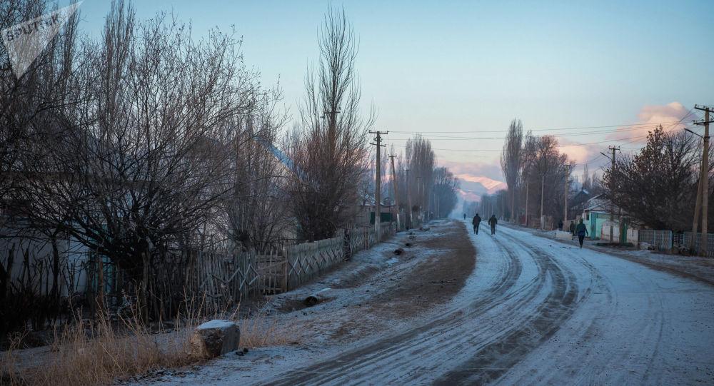 Нарын облусундагы айыл. Архив