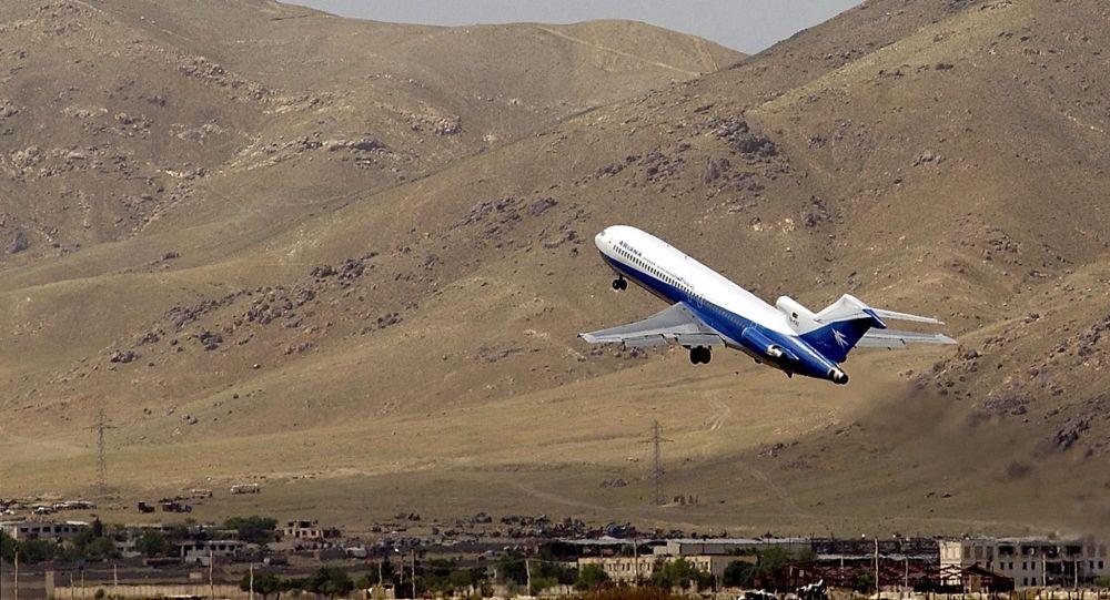 Ariana Afghan Airlines авиакомпаниясынын учагы. Архив
