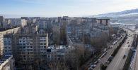 Бишкектеги көп кабаттуу үйлөр. Архив
