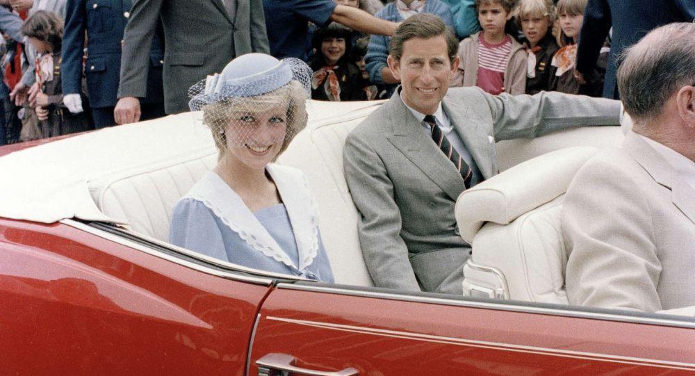 Канайым Диана жана принц Чарльз. Архивдик сүрөт