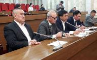 Главы профсоюзов Кыргызстана на заседании в Жогорку Кенеше