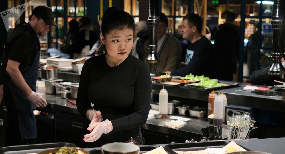Ресторан азиатской кухни. Архивное фото