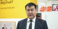 Бишкек асфальт сервис муниципалдык ишканасынын башчысы Нурбек Чолпонбаев