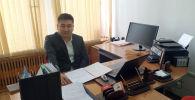 КТ Мобайл мамлекеттик ишканасынын директору Мирлан Кубаталиев