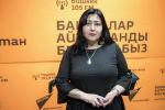 Жарандык актыларды каттоо департаментинин жарандык маселелер боюнча бөлүмүнүн адиси Анара Тиленова