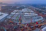 Из-за вспышки коронавируса в китайском городе Ухань начали экстренно строить больницы. Одну из них отстроили за 10 дней, она уже принимает пациентов.