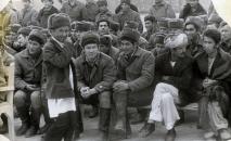 Старший сержант 860-полка Майрамбек Бектемиров в Афганистане