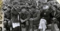 860-полктун ага сержанты Майрамбек Бектемиров. Архив