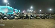 Бишкектеги унаалар. Архивдик сүрөт