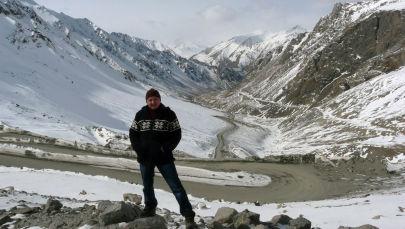 Директор общественного фонда Snow Leopard Foundation in the Kyrgyz Republic, эколог Кубанычбек Жумабай уулу