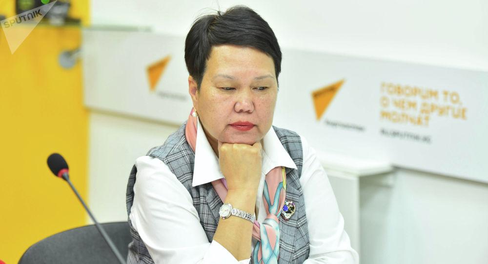 Бывший начальник Управления образования мэрии Бишкека Сауле Мейрманова. Архивное фото