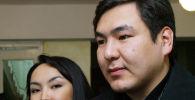 Кыргызстандын биринчи перзиденти Аскар Акаевдин уулу Айдар Акаев. Архив