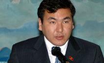 Архивное фото сына первого президента Кыргызстана Айдара Акаева
