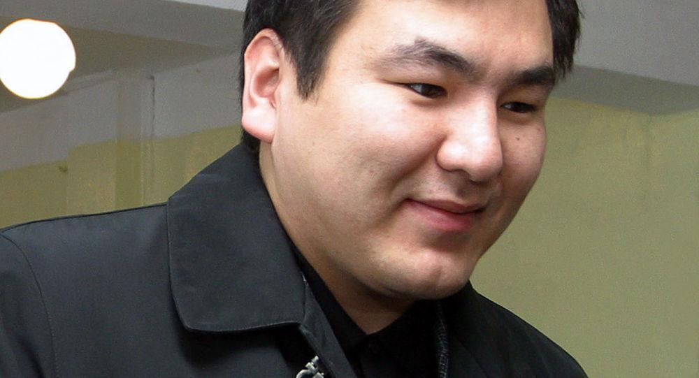 Сын первого президента Кыргызстана Айдар Акаев. Архивное фото
