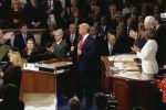 Трамп Конгрессте улутка кайрылуу жасады. Өз сөзүндө ал өлкөдөгү абалга саресеп салган. Иш-чара ойдогудай тынч өткөн жок.