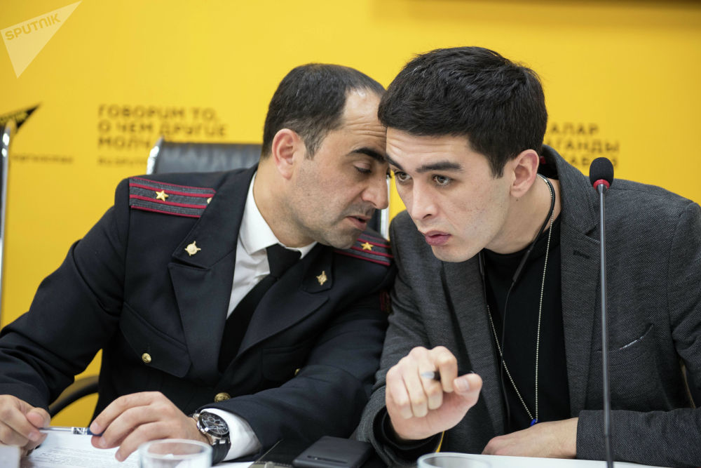 В пресс-центре Sputnik Кыргызстан прошла пресс-конференция Итоги крупного расследования Финпола по недоливам на АЗС Бишкека