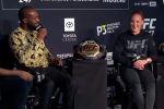 В Лас-Вегасе накануне турнира UFC 247 состоялась пресс-конференция с участием бойцов организации. В частности на вопросы отвечали лучший боец UFC Джон Джонс и чемпионка из Кыргызстана Валентина Шевченко.