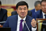 Премьер-министр Кыргызской Республики Мухаммедкалый Абылгазиев на итоговом выступлении на заседании Жогорку Кенеша Кыргызской Республики