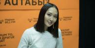 Кыргызская актриса и модель Мээрим Атантаева