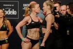 Чемпионка UFC Валентина Шевченко успешно прошла церемонию взвешивания перед турниром, как и ее соперница Кэтлин Чукагян.
