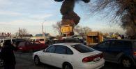 Бишкектин батыш тарабында турак үйдөн өрт чыкты