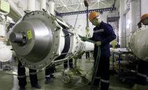 ГЭСтеги монтаждык иштер. Архивдик сүрөт