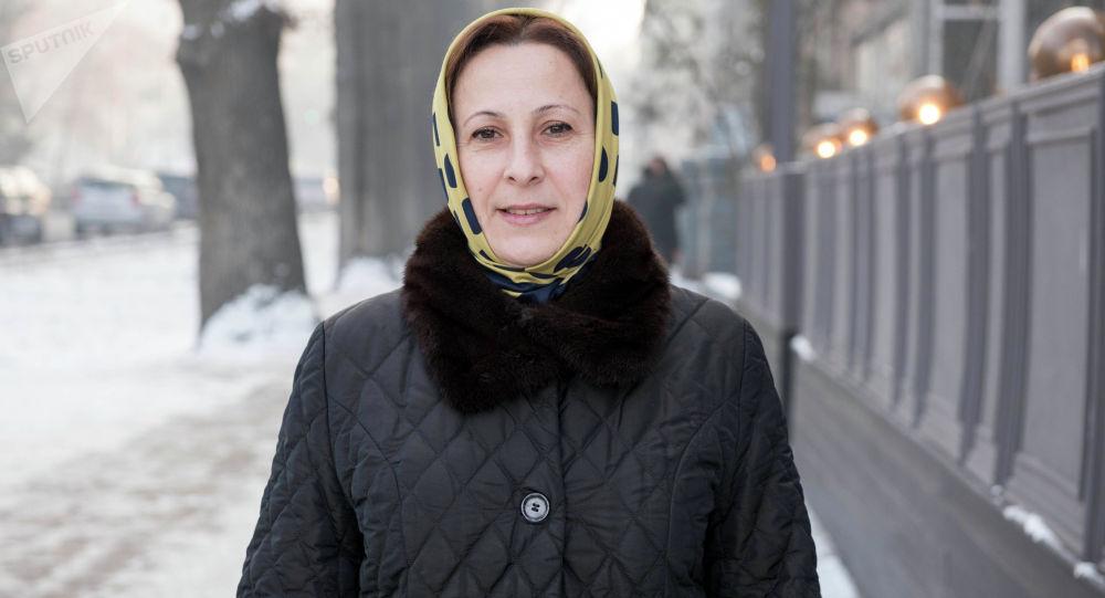 Сотрудница международной организации Врачи без границ Лейла Умалатова