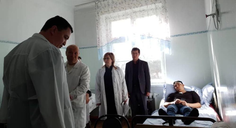 Кордайдагы массалык башаламандыктан Кыргызстанга качып келип дарыланып жаткан Казакстандын жарандары өз өлкөсүнө жөнөтүлдү