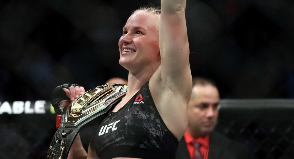 Чемпионка UFC из Кыргызстана Валентина Шевченко