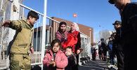 Жители сел Сортобе и Масанчи Кордайского района Жамбылской области Казахстана покидают Кыргызстан, после массовых беспорядков в приграничных селах Казахстана. 8 февраля 2020 года