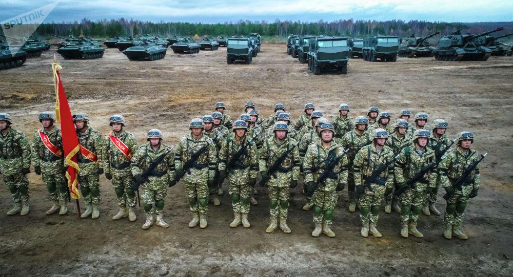 Совместные учения Коллективных сил оперативного реагирования Организации договора о коллективной безопасности (КСОР ОДКБ). Архивное фото