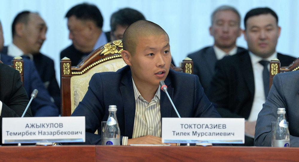 Кандидат на главу Минсельхоза Тилек Токтогазиев. Архивное фото