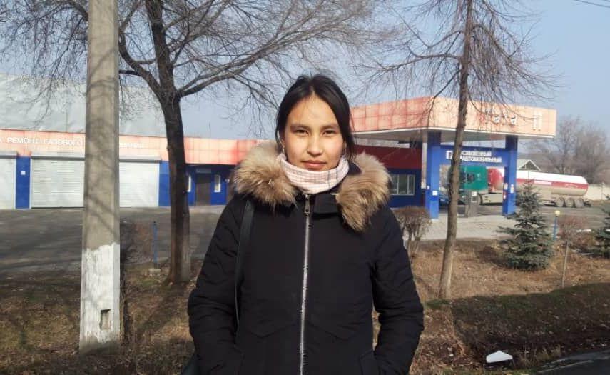Технолог швейного цеха Сезим Медетбекова