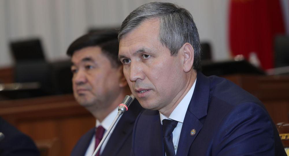 Новый вице-премьер Кыргызстана Акрам Мадумаров. Архивное фото