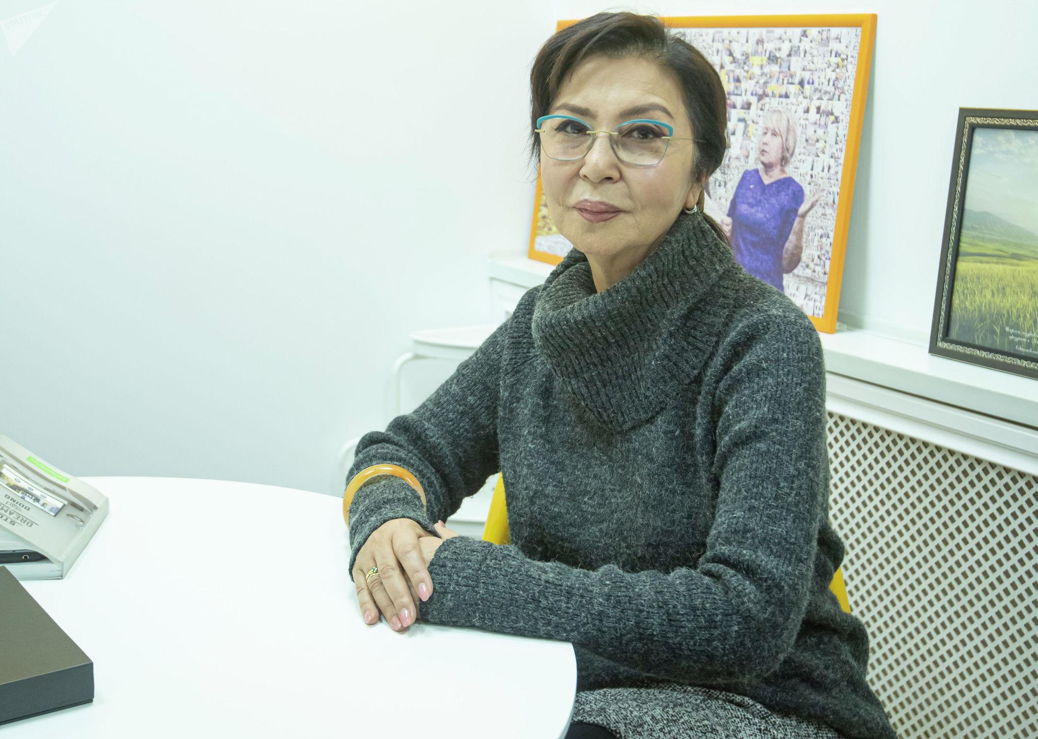 Актриса, народная артистка Кыргызстана и Казахстана Айтурган Темирова